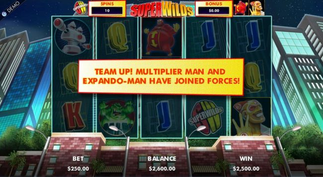 Team up! Multiplier man and Expando-Man have joined forces.