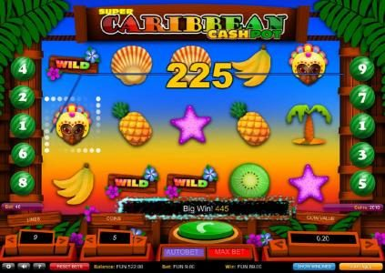 Royal House featuring the Video Slots Super Caribbean Cashpot with a maximum payout of £27,000