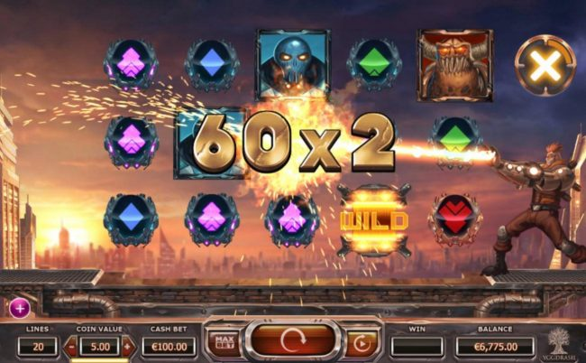 Boaboa featuring the Video Slots Super Heroes with a maximum payout of $350,000