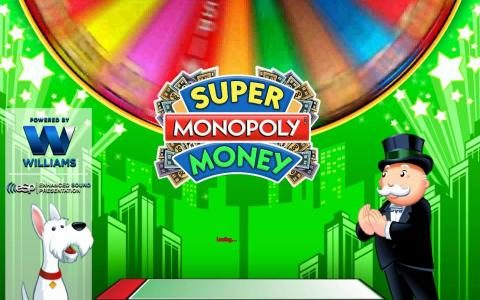 Super Monopoly Money :: Splash screen - game loading
