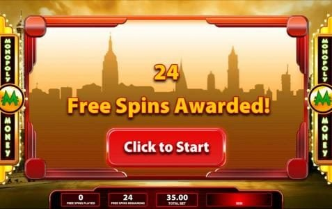 Super Monopoly Money :: 24 free spins awarded