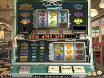 Play slots at Orientxpress: Orientxpress featuring the Video Slots Super Nudge 6000 with a maximum payout of $6,000