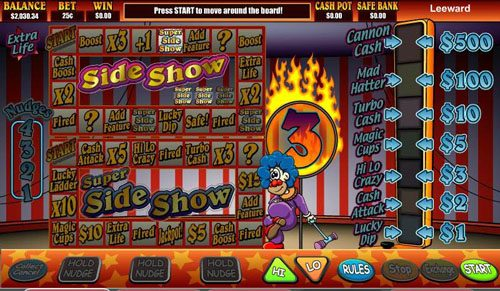 Lucky Me Slots featuring the video-Slots Super Slideshow 1 Euro with a maximum payout of 2,000x