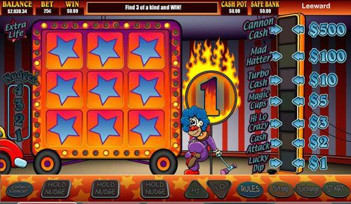 Bonanza featuring the video-Slots Super Slideshow 1 Euro with a maximum payout of 2,000x