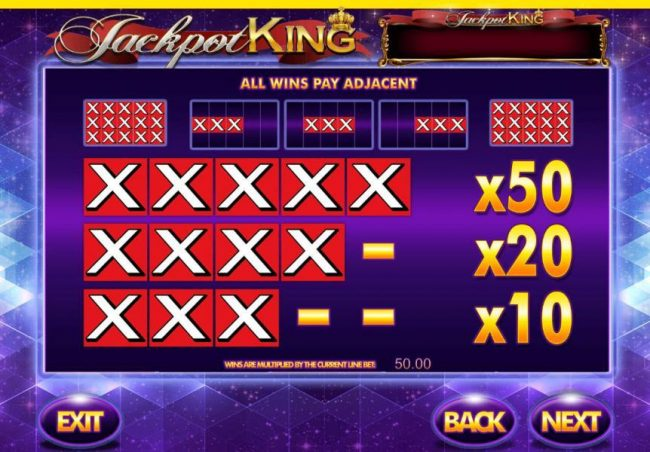 VegasMobile featuring the Video Slots Super Spinner Bar-X with a maximum payout of Jackpot