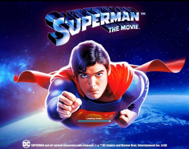 Mr Play featuring the Video Slots Superman the Movie with a maximum payout of $225,000