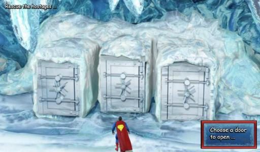 Rescue the hostages - choose a door and reveal your prize award.