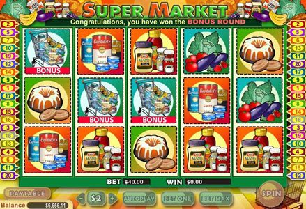 Lincoln featuring the Video Slots Supermarket with a maximum payout of $100,000