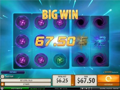 HippoZino featuring the Video Slots Supernova with a maximum payout of 2,500x