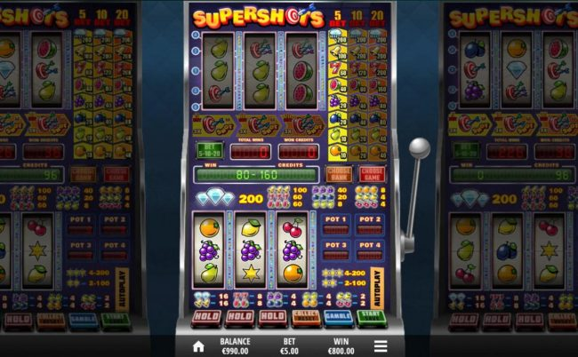 Play slots at 333 Palace: 333 Palace featuring the Video Slots Supershots with a maximum payout of $20,000