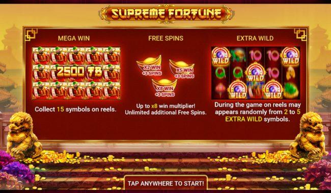 Supreme Fortune :: Introduction