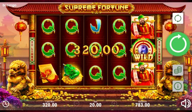 Supreme Fortune :: Multiple winning paylines