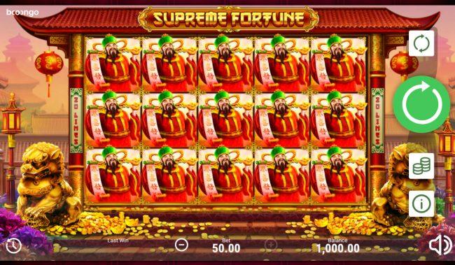 Supreme Fortune :: Main Game Board