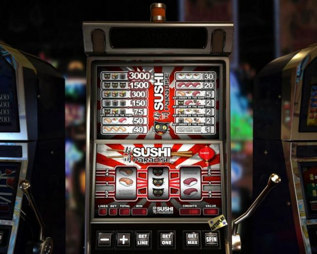Elegant VIP featuring the Video Slots Sushi Paradise with a maximum payout of $3,000