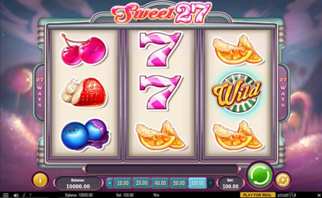 Play slots at Queen Vegas: Queen Vegas featuring the Video Slots Sweet 27 with a maximum payout of $5,000