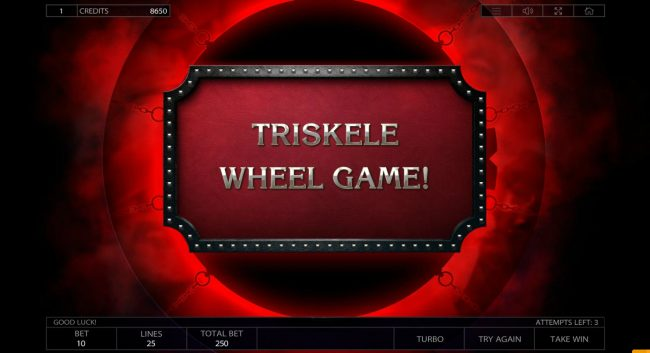 Crypto Wild featuring the Video Slots Taboo with a maximum payout of $125,000