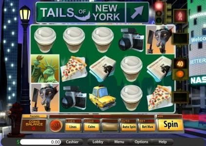 Roadhouse Reels featuring the Video Slots Tails of New York with a maximum payout of $17,500