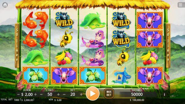 Taiwan Black Bear :: Main Game Board