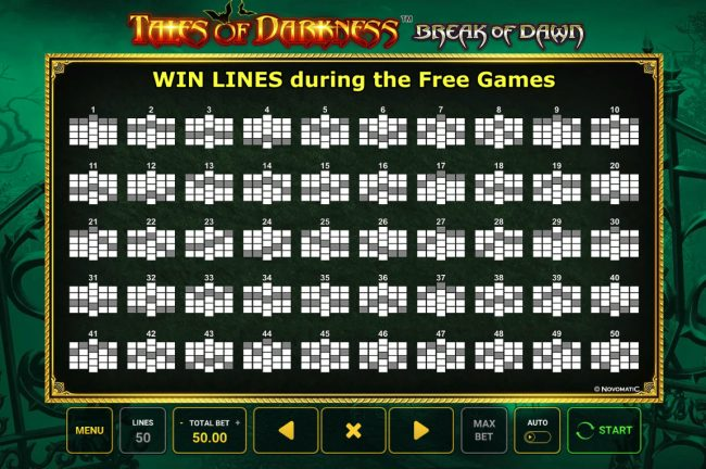 Free Spins - Paylines