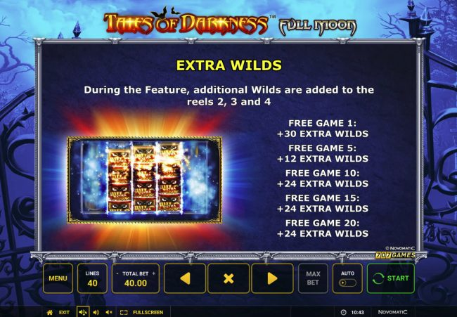 Tales of Darkness Full Moon :: Extra Wilds