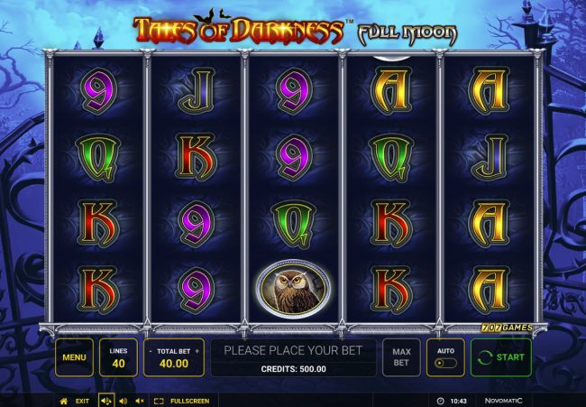 Tales of Darkness Full Moon :: Main Game Board