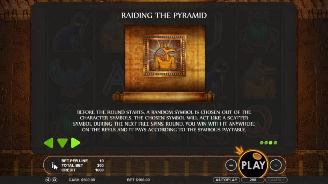 Wild Jackpots featuring the Video Slots Tales of Egypt with a maximum payout of $5,000
