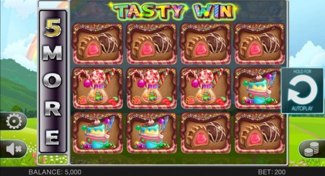 Play slots at Kingbit Casino: Kingbit Casino featuring the Video Slots Tasty Win with a maximum payout of $100,000