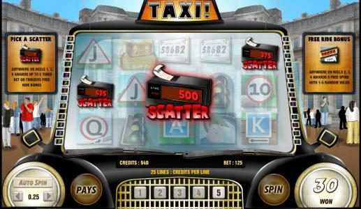 Genting featuring the Video Slots Taxi with a maximum payout of 6250x
