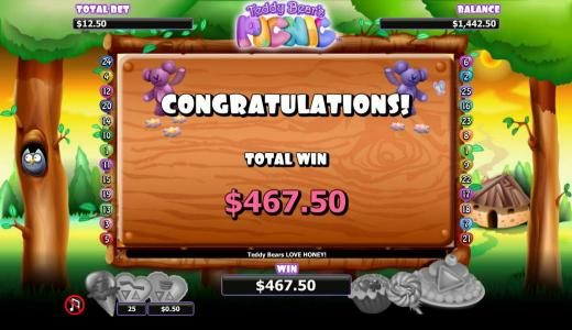 Genting featuring the Video Slots Teddy Bears Picnic with a maximum payout of $1,000