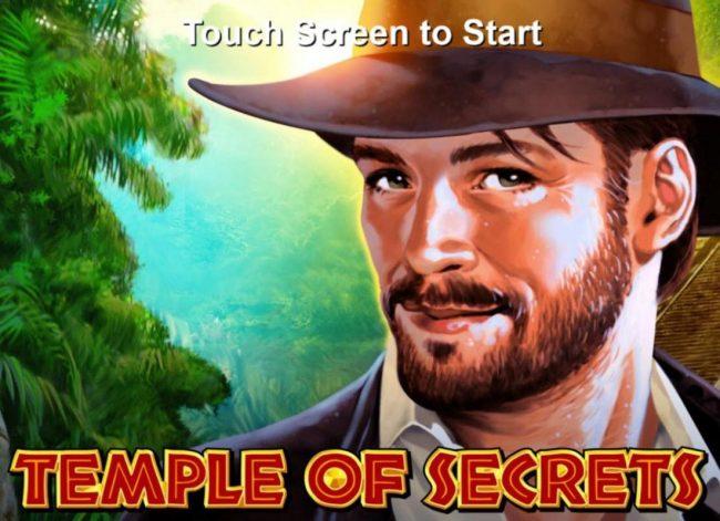 Splash screen - game loading - Indiana Jones Adventurer Theme