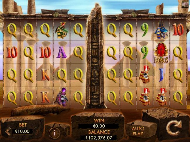 Dreamy 7 featuring the Video Slots Temple of Luxor with a maximum payout of $50,000
