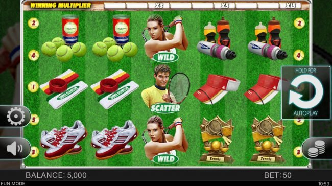 Tennis Champion :: Main Game Board