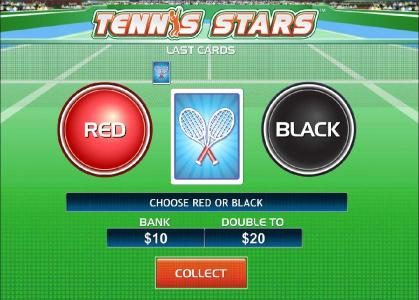 Joyland Casino featuring the Video Slots Tennis Stars with a maximum payout of $500,000