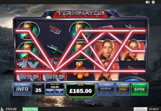 Swiss Casino featuring the Video Slots Terminator Genisys with a maximum payout of $6,000,000
