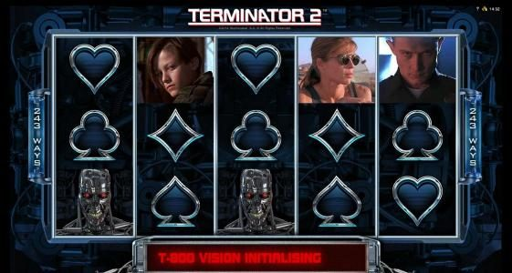 Terminator 2 - Judgement Day :: t-800 vision feature triggered