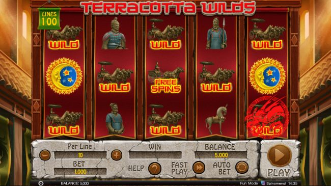 Terracotta Wilds :: Main Game Board