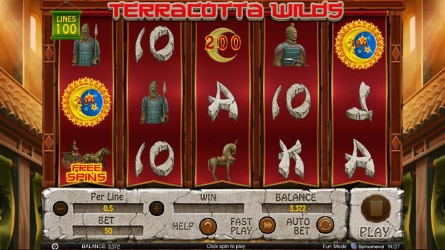 Terracotta Wilds :: Select scatter symbol to reveal a prize award