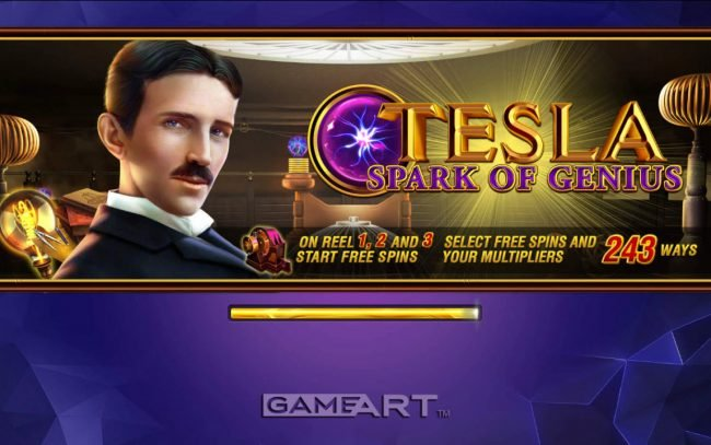 Play slots at Joker Casino: Joker Casino featuring the Video Slots Tesla Spark of Genius with a maximum payout of $500