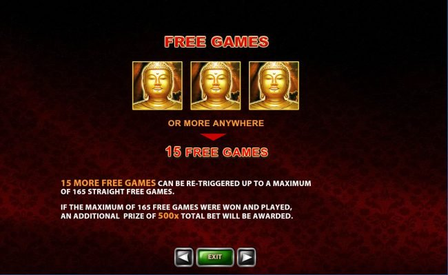Casino Lucky Win featuring the Video Slots Thai Temple with a maximum payout of $150,000