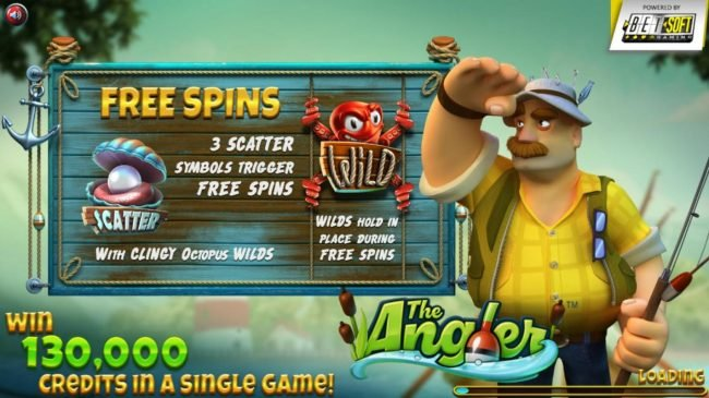 Play slots at Wizbet: Wizbet featuring the Video Slots The Angler with a maximum payout of $130,000