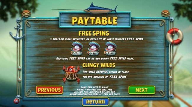 Slots Village featuring the Video Slots The Angler with a maximum payout of $130,000