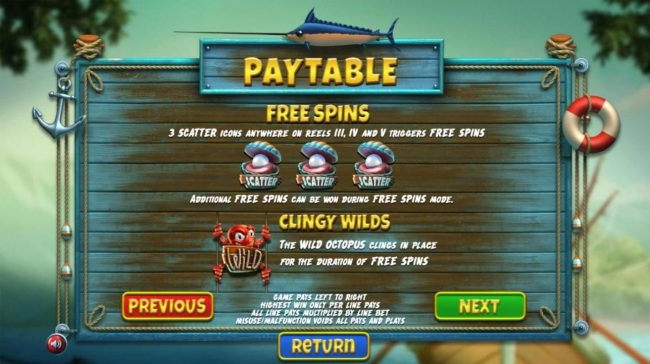 Betchain featuring the Video Slots The Angler with a maximum payout of $130,000