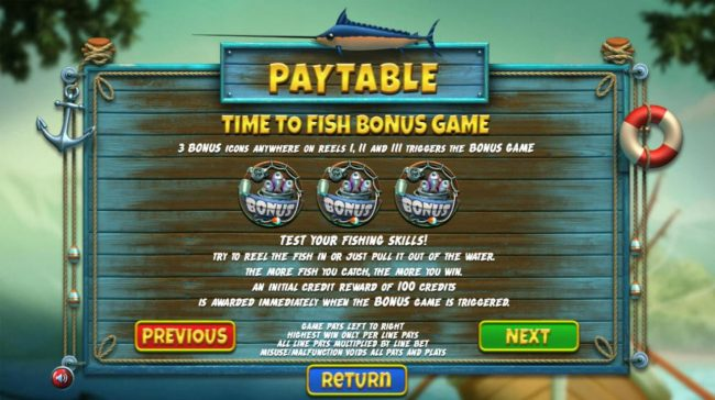 24 Vip featuring the Video Slots The Angler with a maximum payout of $130,000