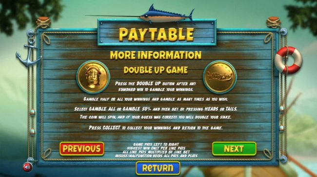 888 Tiger featuring the Video Slots The Angler with a maximum payout of $130,000