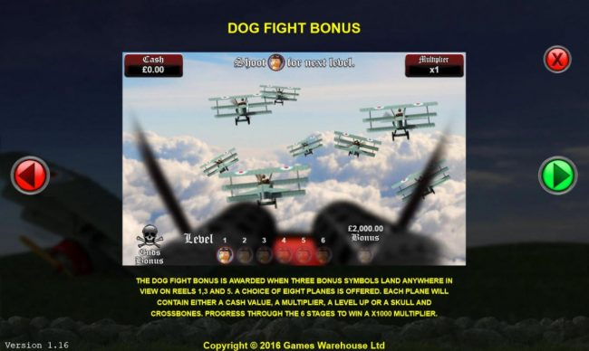 The Baron :: Dog Fight Bonus Rules