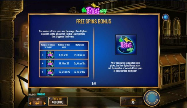 Free Spins Bonus Rules - Continued