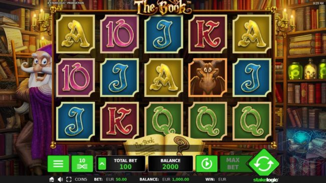 The Book :: Main Game Board