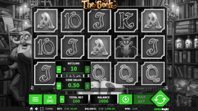 The Book :: Betting Options