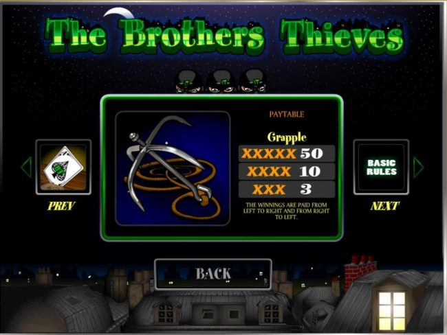 Trada featuring the Video Slots The Brothers Thieves with a maximum payout of $20,000