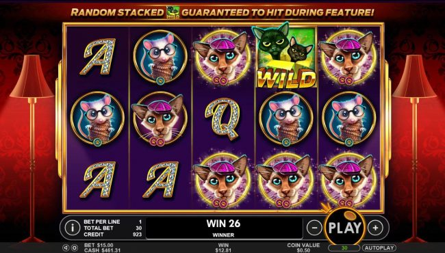 21 Dukes featuring the Video Slots The Catfather part II with a maximum payout of $25,000